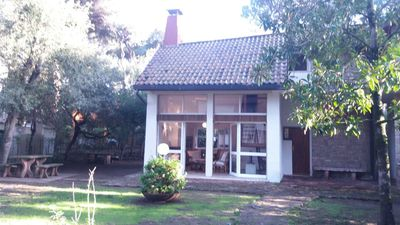 Photo for Villa with fenced garden among the pine trees near the sea, bright and comfortable