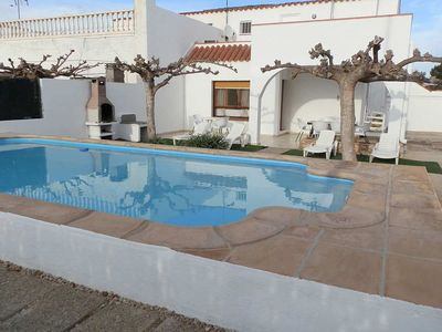 Photo for CASA NOELIA,Ideal house for your holidays near the sea, free wifi, air conditioning, private pool, pets allowed, dog's beach.