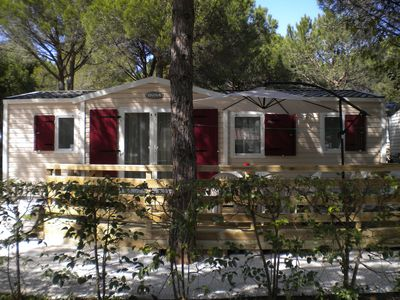 Photo for Mobil-home - Camping La Baume