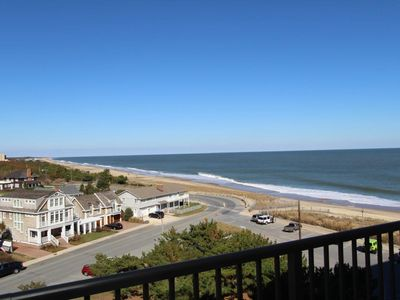 Photo for LINENS & DAILY ACTIVITIES INCLUDED*!. OCEAN VIEWS - OCEANFRONT/BOARDWALK BUILDING W/ROOFTOP POOL  -  Outstanding ocean views await the guest from every room