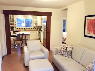 Photo for Pear Suite 2 bedroom ( king & queen) dream kitchen, deck, bbq, wifi, fenced yard