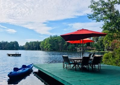 Oh My!  Use of private lakeside and amenities - included in your stay!  WOWZA!