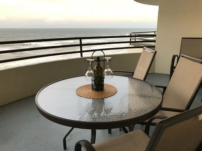 Photo for BEACH LOVERS!!  Welcoming OCEANFRONT  Condo at SandDollar  HEATED POOL, HOT TUB