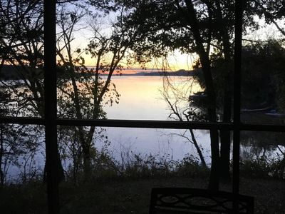 Photo for Lake Wisconsin Family Lake Home.  Sleeps 10 with great views, beach access.