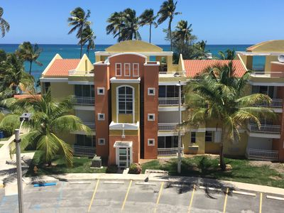 Photo for Villas Del Mar 3BR/2BA Penthouse on RIGHT ON BEACHFRONT! UNBEATABLE BEACH VIEW!