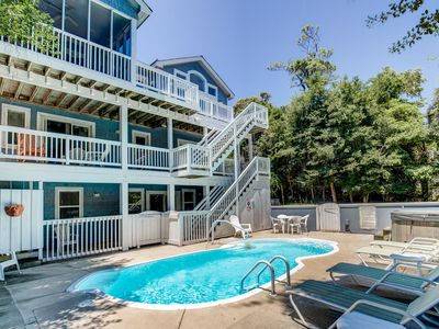 Photo for Sweet Retreat   Ocean Side   Private Pool, Hot Tub   Duck