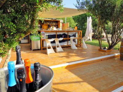 Photo for One bedroom Villa, sleeps 4 in Proiettore with Air Con and WiFi