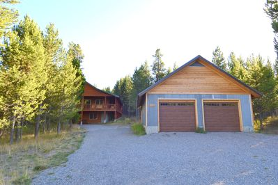 There is a garage and large driveway for your vehicles, snowmobiles, ATV's etc.