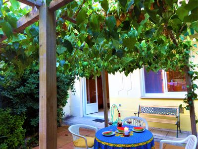 Photo for Charming Apartment With Private Garden
