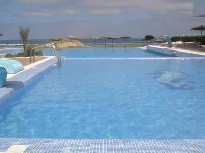 Photo for Sea views, large swimming pool, terrace apartment in residence