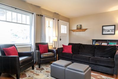 Light, bright and welcoming living spaces welcome you!