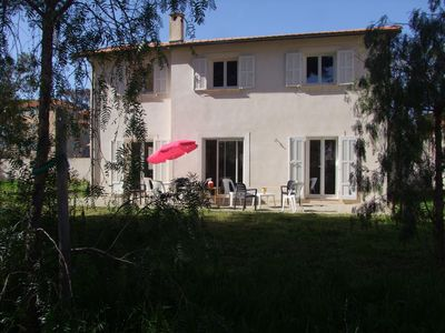 Photo for Bastide 10 people 160 m from the sea. Very calm . Corniche of Tamaris - Var