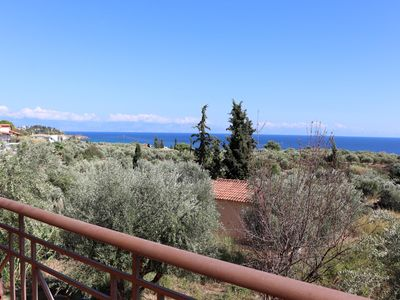 Photo for Idyllic located holiday home, vast view, wifi | Messenia, Peloponnese