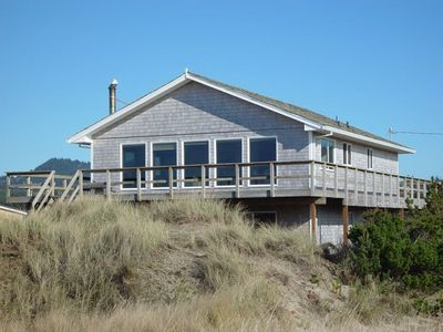"""Photo for """"Gull Cottage"""" Pet friendly oceanfront home in Pacific City..Great family home."""