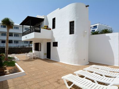 Photo for Big Solarium Villa in Puerto del Carmen Beach