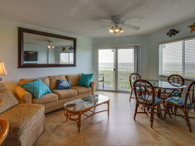 Photo for Oceanfront condo w/beach access, shared tennis, pool, etc. - marina available!