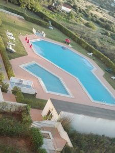 Photo for 1 bedroom apartment with swimming pool 400m from the beach w / ac, garage and Internet Wi-F