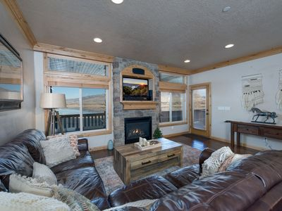 Photo for Lakeside 54: Waterfront Snowbasin Vacation Rental - Snowbasin Shuttle