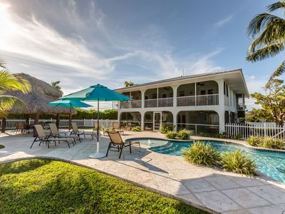 Photo for Beautiful 3 Bedroom Home with Private Pool and Dock