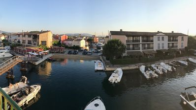Photo for PORT GRIMAUD 1 VIEW ON BOATS