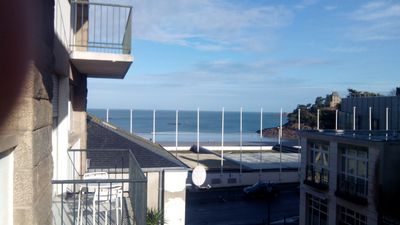 Photo for T3 center of Dinard sea view