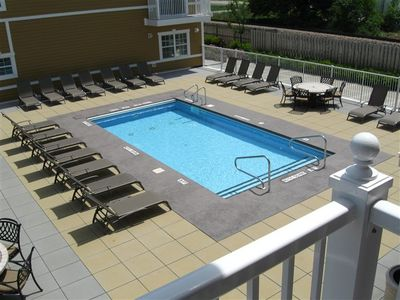 Photo for (2020 Calendar OPEN! Five Night Minimum!) Luxurious Condo in the Heart of New Buffalo with Association Pool!