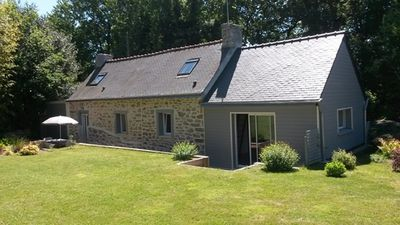 Photo for detached cottage on the seafront 2-6 South Brittany seats WIFI 2 terraces