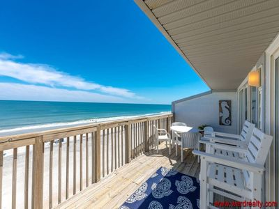 Photo for Ocean Potion - Oceanfront Queen's Grant Condo with Amazing Views!