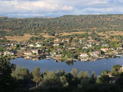 Photo for Lake Tulloch and mountain Panoramic view house in Coper Cove