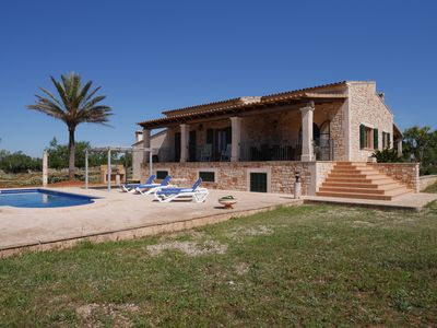 Photo for Sa Talaia Vella with pool and large veranda