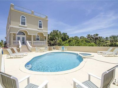 Photo for Wave Watch, 6 Bedrooms, Sleeps 12, Ocean Front, Private Pool, Spa