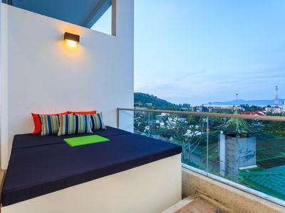 Photo for The Quarter 408 - Seaview Duplex in Surin with Pool & Balcony