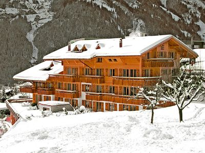 Photo for Apartment in the center of Grindelwald with Lift, Parking, Internet, Balcony (44203)