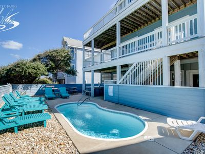 Photo for Someday Came | 300 ft from the beach | Private Pool, Hot Tub