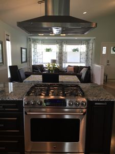 With high-end appliances and ample counter space, meal prep is a breeze!