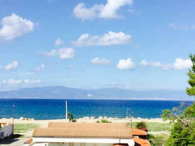 Photo for Apartment between Pizzo and Tropea, sea view and private parking