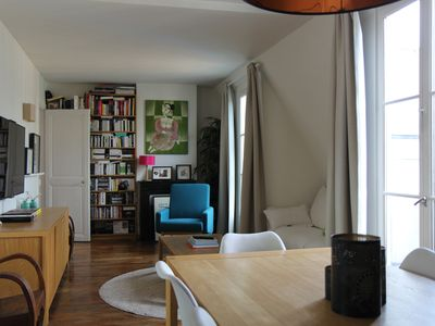 Photo for Beautiful family apartment at the foot of the Saint Martin canal