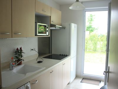 Photo for APARTMENT DRC WITH TERRACE AND GARDEN 1 TO 4 PEOPLE CALM ENSURES-WIFI