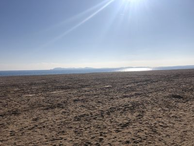 Photo for 20M FROM THE BEACH OF THE AYGUADE