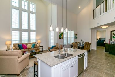 Living Room - Welcome to Port Aransas! Your home is professionally managed by TurnKey Vacation Rentals.