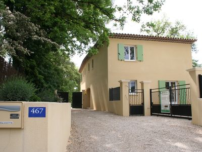 Photo for Beach House, quiet, 5 minutes walk from a lively village near Cannes
