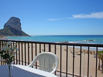 Photo for 2 bedroom Apartment, sleeps 5 in Calpe with Air Con and WiFi