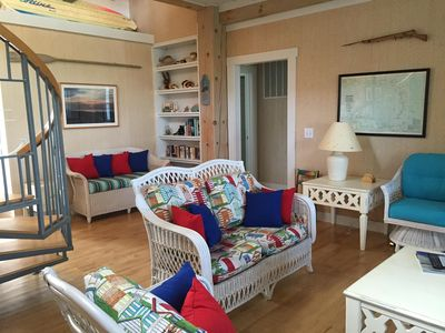 Great room shows new upholstery for 2016