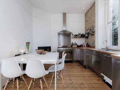Photo for Cosy & Rustique 3BR Apartment, in London Fields Hackney (Veeve)