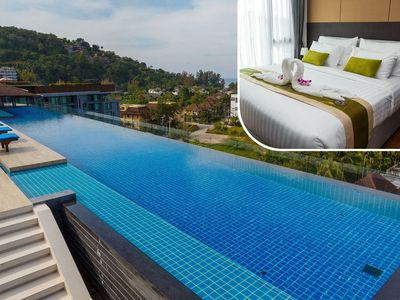 Photo for Apartment in Choeng Thale with Lift, Parking, Internet, Washing machine (699843)