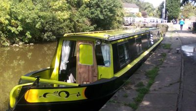 Photo for Beautiful Canal Narrowboat 'Ellis Belle' to Hire from Tranquil Greenberfield