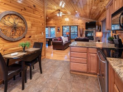 Photo for Immaculate Gatlinburg Cabin in Ideal Location - Private/Romantic/WiFi/Hot Tub