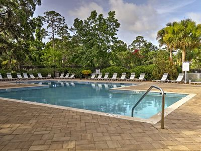 Photo for Hilton Head Condo w/Private Patio+Resort Amenities