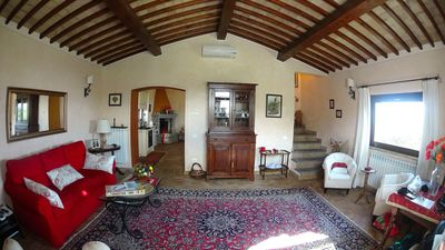 Red House                       The large living room