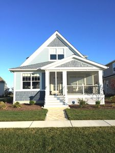 Unobstructed view of Sandusky Bay Front of Home with Screened in Porch
